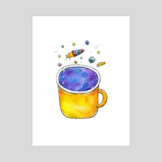 Space Cup by Tania S