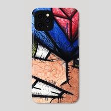 Mega Man - Phone Case by Chris Panila