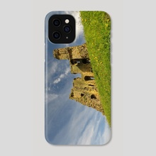 Scarborough Castle - Phone Case by Eve King