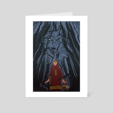 Little Red Riding Hood - Art Card by Sydneii Cee