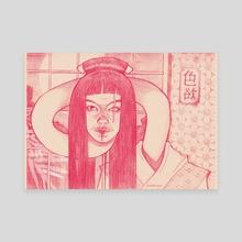 rokurokubi - Canvas by Artem Polyakov