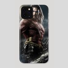 Aquaman FlashPoint - Phone Case by Valentin Romero