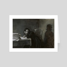 Mary Shelley - Art Card by Dillon Samuelson