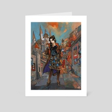 GIRL - Art Card by Jakub Rebelka