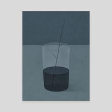 Stem - Canvas by Naftali Beder