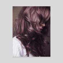 curly - Canvas by dorota rutkowska