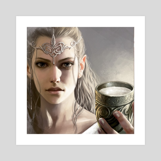 Galadriel  by Magali Villeneuve