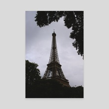 The Eiffel Tower - Canvas by Eva H.