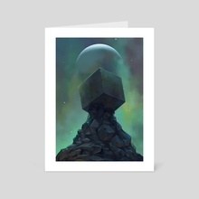 Relic - Art Card by David René Christensen