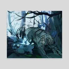 Lunatic - Canvas by Noëlle Kröger