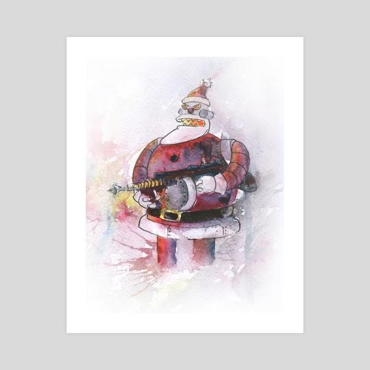 Evil Santa by Dmitry Kaidash