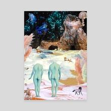 DECEMBER POEM - Canvas by GABA girl