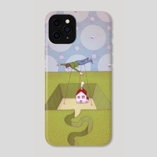 The Overview - Phone Case by Benedikt Notter