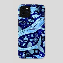 The Abyssal Zone - Phone Case by Scott Partridge