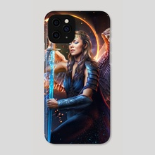 Warrior Angel - Phone Case by DIMITRIOS IOANNIDIS