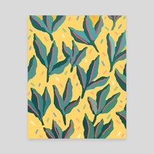 Plant Party - Canvas by Loveis Wise