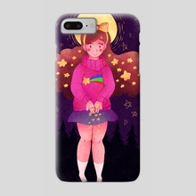 Shooting Star - Phone Case by Andrea Thompson