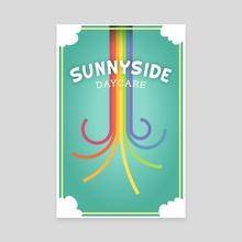 Sunnyside - Canvas by Mario Graciotti