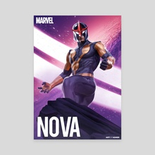 Nova - Sam Alexander - Canvas by Art Of Asher