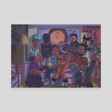 rap sht - Canvas by liljodsz