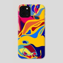 In Bed - Phone Case by STUDIOMIKLUS