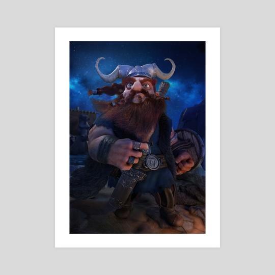 Viking by Luigi Monaldi