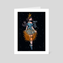 Could I be a star too? - Art Card by Catstyle