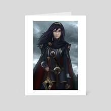 Lucina Fire Emblem - Art Card by Derek Weselake
