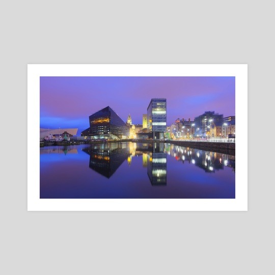 Dockland  Reflections by Michael Walsh