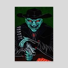 THE GAMBLER - Canvas by Brandon Ngai