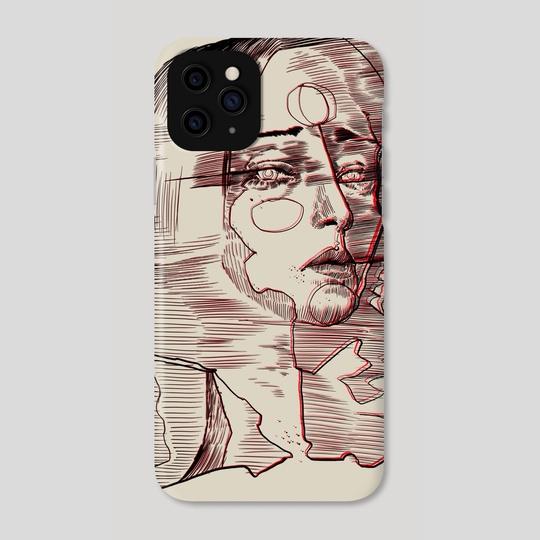 Blurred woman portrait  by Pablo Puentes