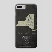 New York: The 11th State - Phone Case by The Union Archive