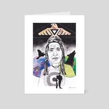 #NoDAPL - Art Card by Jana Manu
