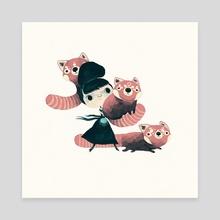 panda - Canvas by yohan sacré