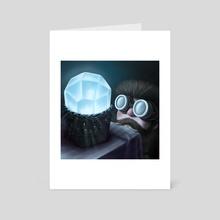 PiP & His Crystal 02 - Art Card by Lary Yu