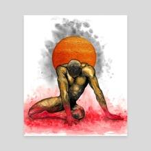 Flegetonte - Phlegethon - Canvas by Watercolour Dreams creations