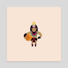 mascot / san diego state - Canvas by alex eben meyer