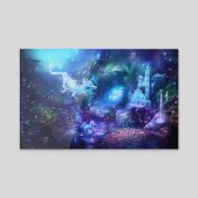 Water Dragon Kingdom - Acrylic by Incantata Gallery