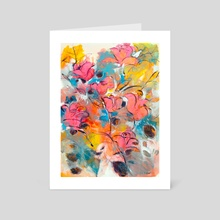 Antique rose - Art Card by Alessandro Andreuccetti