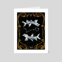 PISCES - Art Card by Delphyne V.