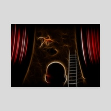 Surreal performance - Canvas by Bruce Rolff