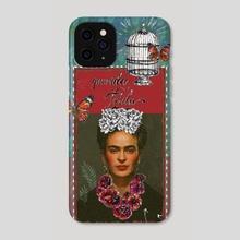 Querida Frida. - Phone Case by Fanitsa Art