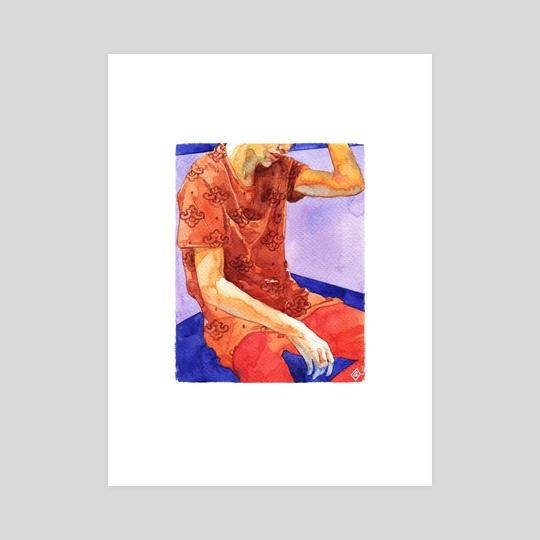 Watercolor #5 by Jane Galushkina