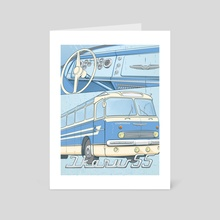 Ikarus 55 - Art Card by Alexander Anisenkov