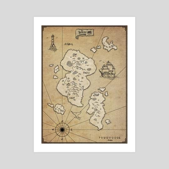 The Treasure Islands by XploringMap