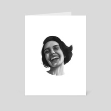 E_Motions. No. 6 - Art Card by Bartosz Gorczyca
