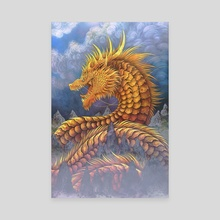 Huang He River Dragon - Canvas by Cerid Ellis