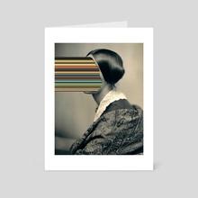 Unidentified Woman / Hypercolors (2013) - Art Card by matthieu Bourel