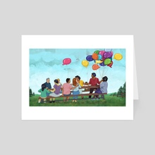 Gathering - Art Card by Michelle Kondrich
