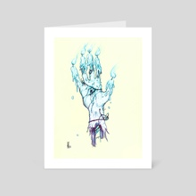 Hand of Glory - Art Card by Persephone Kavallines